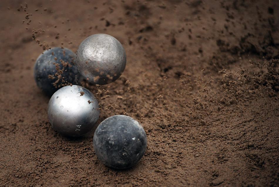 Spela boule iDjurgården