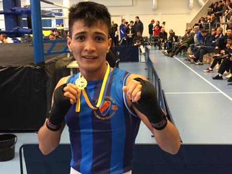 Ung boxare får motta berömt ungdomsstipendium